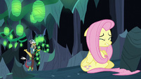 Discord finds Fluttershy S6E26