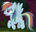 Fake Rainbow Dash ID S8E13