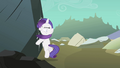 Filly Rarity smacks into rock S1E23.png