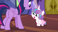 Flurry Heart looking adorably silly S7E3