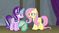 Fluttershy -I just hope Princess Celestia says- S8E7