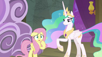 Fluttershy looking nervous S8E7
