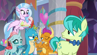 "Gallus ""I'm not the only non-pony"" S9E7"
