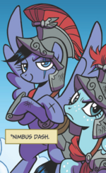 Legends of Magic issue 4 Nimbus Dash