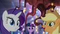 Mane Six pleased to see Cadance and Shining Armor S5E19.png