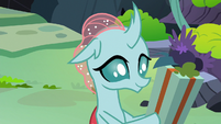 Ocellus holding a gift box S8E16