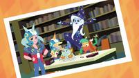 Photo of Applejack and the RPG club EGDS4