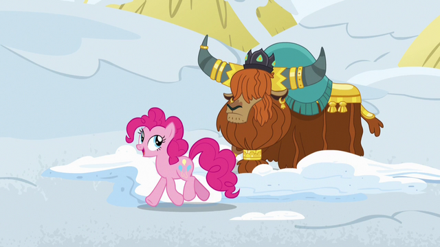 "File:Pinkie Pie ""these yak snow beds are"" S7E11.png"
