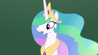 Princess Celestia lost and confused S8E7