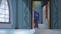 Princess Luna in the door frame S4E19