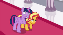 "Princess Twilight whispering ""am I helping?"" EGFF"