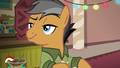 Quibble Pants looking smug S6E13.png