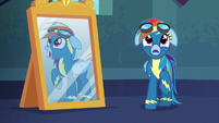 Rainbow --about to take your first flight-- S6E7