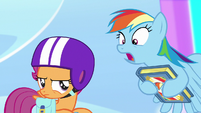 Rainbow -this could rock you to your very core- S7E7
