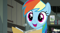 "Rainbow Dash ""so all we have to do"" S7E18"