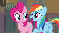 Rainbow Dash -if something bad happens- S7E18