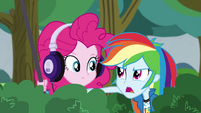 Rainbow Dash -we're trying to spy on them- EG3
