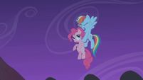 Rainbow Dash saves Pinkie Pie S1E02