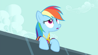 Rainbow Dash sighing, S4E23