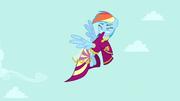 Rainbow Dash tentando tirar o vestido T4E23