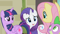 Rarity 'Hope you're all available...' S4E08