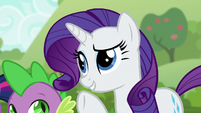 Rarity --if it weren't for our unsuccessful-- S6E10