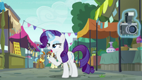 Rarity --then you fire off your party cannon-- S6E3