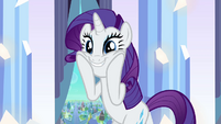 Rarity -There are Crystal Ponies-!- S3E1