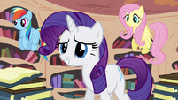 Rarity relieved by Twilight's arrival S4E01
