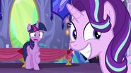 S06E06 Twilight zdziwiona powrotem Trixie