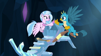 Silverstream and Gallus fist-bump S9E3