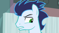 Soarin growing suspicious S4E10