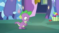 Spike 'if Fluttershy says tortoises hibernate' S5E5