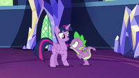 Spike -we need to switch places!- S7E15