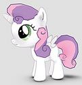 Sweetie Belle Alicorn ID Gameloft