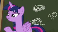 Twilight Sparkle --I have a pretty good idea-- S6E22