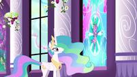"""Celestia """"O Spike levou o Coração de Cristal pra Princesa Cadance"""" T03E02"""
