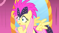 Fluttershy's grin doesn't impress Photo Finish S1E20.png