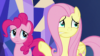 Fluttershy -pretty upset with us- S8E2