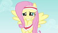 Fluttershy blushing smile S2E22