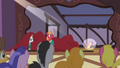 Fluttershy frozen in the spotlight S4E14.png