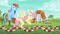 Fluttershy losing her balance S6E18