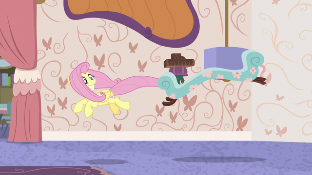 File:Fluttershy playing with the chaise lounge S7E12.png