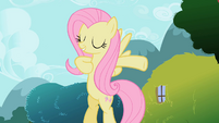 Fluttershy striking a pose S2E7