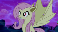 Fluttershy turns into Flutterbat S5E13