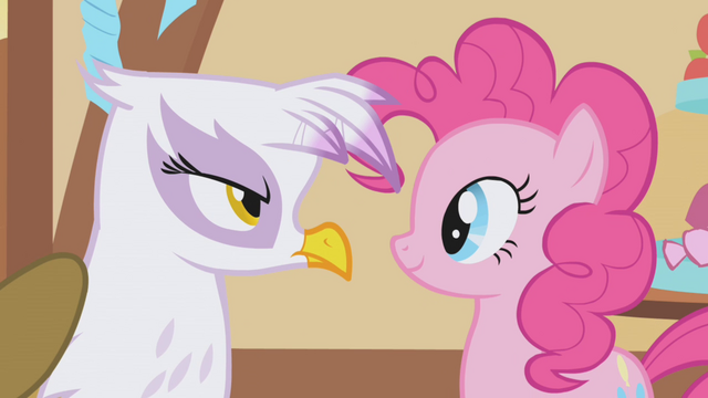 File:Gilda stares Pinkie Pie down S1E05.png