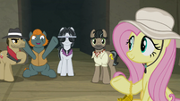 Henchponies happy that Fluttershy is safe S9E21