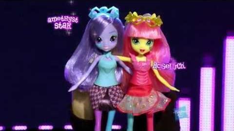 Muñecas My Little Pony Equestria Girls Rainbow Rocks - América Latina - Cuarto anuncio