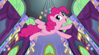 "Pinkie Pie ""big tall ceilings"" S5E3"