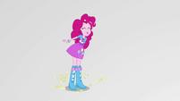 Pinkie Pie catching popcorn in her mouth EGS3